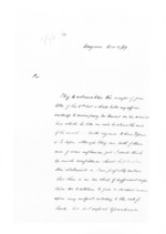 2 pages written 12 Dec 1859 by Samuel Deighton in Wanganui, from Secretary, Native Department - Administration of native affairs