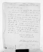 2 pages written 16 Dec 1851 by James Buchanan McKain in Ahuriri to Sir Donald McLean, from Inward letters - Surnames, Und - Viv