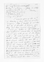 3 pages written 12 Jul 1869 by Robert Pharazyn in Wellington City, from Inward letters - Surnames, Pet - Pic