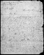 6 pages written 9 Jan 1840 by Francis Logan, from Inward letters - Surnames, Loc - Log
