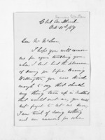3 pages written 21 Oct 1869 by Captain Harvey Spiller in Auckland Region to Sir Donald McLean, from Inward letters - Surnames, Spe - Sta