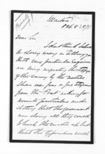 7 pages written 8 Oct 1871 by H M Brewer to Sir William Fox, from Inward letters - Surnames, Bra - Bro