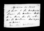2 pages written 16 Apr 1851 by Ani Matenga, from Correspondence and other papers in Maori
