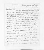 5 pages written 22 Jun 1870 by Captain John Lockett in Nelson Region, from Inward letters - Surnames, Loc - Log