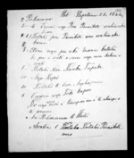 2 pages written 28 Sep 1844 by Wiremu Poharama, from Correspondence and other papers in Maori