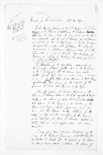 2 pages, from Papers relating to general government - Memoranda from Premier and Cabinet