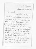 3 pages written 24 Apr 1863 by John Rogan in Auckland Region, from Inward letters - John Rogan