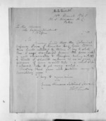 1 page written 15 Mar 1868 by Thomas Dillon Smith to Sir Donald McLean in Napier City, from Inward letters - Surnames, Smith