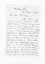 3 pages written 14 Nov 1866 by John Valentine Smith in Wellington City to Sir Donald McLean in Hawke's Bay Region and Napier City, from Inward letters - Surnames, Smith