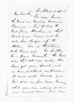 2 pages written 4 Apr 1863 by John Rogan in Auckland Region, from Inward letters - John Rogan