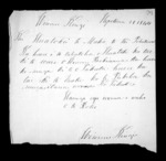 2 pages written 28 Sep 1844 by Wiremu Kingi, from Correspondence and other papers in Maori