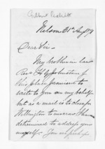 3 pages written 31 Aug 1871 by Gilbert Pickett in Nelson Region, from Inward letters - Surnames, Pet - Pic