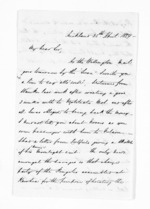 3 pages written 25 Apr 1859 by John Rogan in Auckland Region, from Inward letters - John Rogan