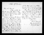 1 page written 17 Nov 1874 by William Kentish McLean in Napier City to Sir Donald McLean, from Correspondence and other papers in Maori