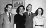Dr John Cairney and his family