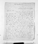 3 pages written 1 Nov 1858 by John Simpson Sanderson to Sir Donald McLean in Auckland Region, from Inward letters - Surnames, Sal - Say