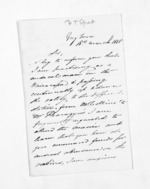 2 pages written 18 Mar 1858 by Henry Thomas Spratt in Greytown, from Inward letters - Surnames, Spe - Sta