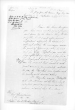 3 pages written 8 Mar 1860 by George Sisson Cooper in Napier City to Sir Donald McLean in Auckland City, from Secretary, Native Department -  Administration of native affairs