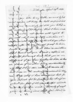 6 pages written 29 Apr 1860 by Charles Pharazyn in Wellington City, from Inward letters - Surnames, Pet - Pic