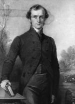 Richmond, George  1809-1896 :George Augustus Selwyn, D. D., Lord Bishop of New Zealand.  Engraved by Samuel Cousins; painted by George Richmond.  [London?]  Rev. Edward Coleridge, 1842