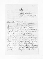 2 pages written 1 Feb 1875 by Margaret MacGregor in Napier City to Sir Donald McLean, from Inward letters - Surnames, Macfar - McHar