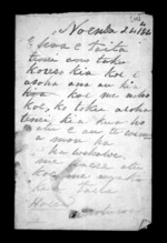 2 pages written 24 Nov 1844 by Moturoa, from Correspondence and other papers in Maori