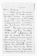4 pages written 11 Dec 1866 by Sir Donald McLean to Captain John Wilson, from Hawke's Bay.  McLean and J D Ormond, Superintendents - Finance papers