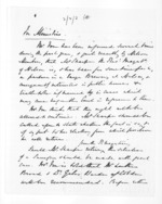 3 pages, from Papers relating to general government - Memoranda from Premier and Cabinet