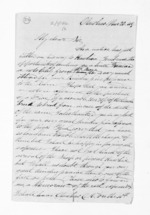 3 pages written 20 Nov 1849 by Rev John Morgan in Otawhao to Sir Donald McLean, from Inward letters - John Morgan