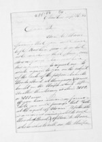 3 pages written 26 Sep 1854 by Rev John Morgan in Otawhao to Sir Donald McLean, from Inward letters - John Morgan