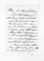 2 pages written by Lauchlan McGillivray to Sir Donald McLean, from Inward letters - Surnames, Macfar - McHar