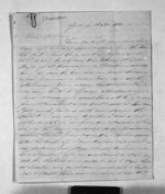 4 pages written 28 Nov 1844 by Morison Charles in Sydney to Sir Donald McLean in New Plymouth, from Inward letters - Charles Morison