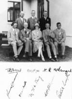 Group including Johannes Carl Andersen