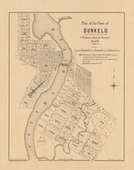 Plan of the town of Dunkeld