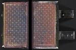Decorative endpapers from Jesum liebender Seelen tägliche Himmel-Reis,