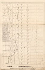 Plan of the Town of Winton & Blocks I to VIII East Winton District