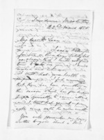 3 pages written 22 Mar 1865 by John Valentine Smith in Masterton to Sir Donald McLean, from Inward letters - Surnames, Smith