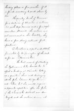 11 pages written 1 Jan 1860 by Robert Reid Parris, from Native affairs - Waitara