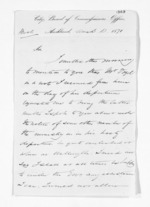 2 pages written 10 Mar 1871 by Philip Aaron Philips in Auckland City to Sir Donald McLean, from Inward letters - Surnames, Pet - Pic