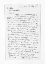 3 pages written 5 May 1871 by Thomas Macfarlane in Auckland Region to Sir Donald McLean, from Inward letters - Surnames, Macfar - McHar