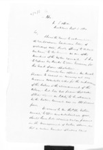 2 pages written 1 Dec 1860 by Sir Donald McLean to Sir Thomas Robert Gore Browne in Auckland Region, from Secretary, Native Department -  Administration of native affairs