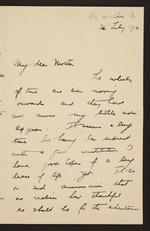 Preservation Master: War Letters