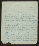 Preservation Master: Letters and associated papers