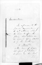 28 pages written 4 Sep 1856 by Sir Donald McLean, from Secretary, Native Department - Administration of native affairs