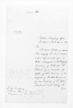 13 pages written 21 Nov 1859 by an unknown author in Auckland City to Sir Thomas Robert Gore Browne, from Secretary, Native Department - Administration of native affairs