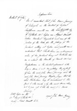 18 pages written 15 Oct 1856 by Alfred Domett, John Davis Canning, Edward Francis Harris, George Tovey Buckland Worgan and Thomas McKenzie in Napier City, from Secretary, Native Department -  Administration of native affairs