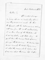 2 pages written 3 Apr 1860 by John Rogan to Waitara, from Inward letters - John Rogan