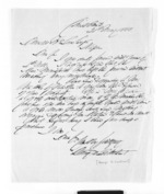 2 pages written 21 May 1866 by George Duncan  Lockhart in Napier City to Sir Donald McLean, from Inward letters - Surnames, Loc - Log