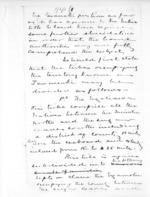 2 pages written by Sir Donald McLean, from Native affairs - Waitara