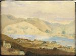 Brees, Samuel Charles, 1810-1865 :[The town of] Petre Wanganui. [1844?].